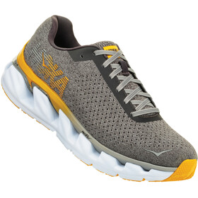 Hoka One One Elevon - Chaussures running Homme - gris/orange
